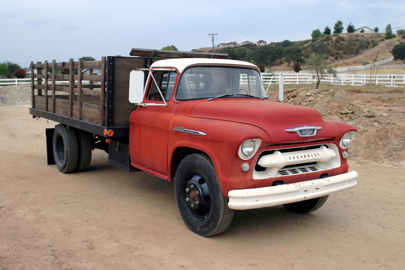 1955 Chevy Dump Truck for Sale