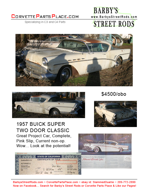 Barby\'s Street Rods - Car Projects, Car Parts, Antique and ...