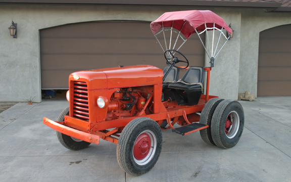 1951 FORD TORO Groundsmaster Golf Tugger Antique Hot Rod Tractor with a Flathead Six for Sale... Runs Great!